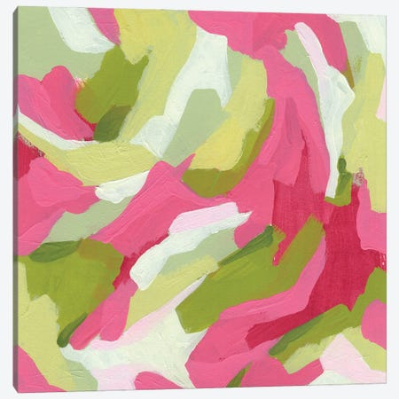 Chromatic Topography I Canvas Print #JEV2767} by June Erica Vess Art Print