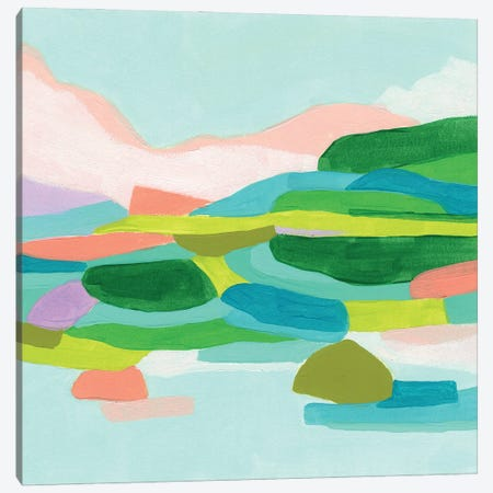 Coastal Confection I Canvas Print #JEV2773} by June Erica Vess Canvas Art Print