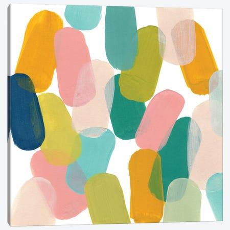 Color Spree IV Canvas Print #JEV2779} by June Erica Vess Art Print
