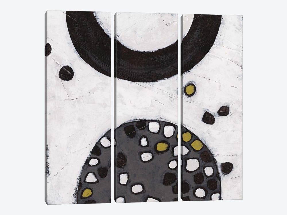 Algorithm IV by June Erica Vess 3-piece Canvas Print