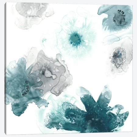 Floating Indigo I Canvas Print #JEV280} by June Erica Vess Canvas Artwork