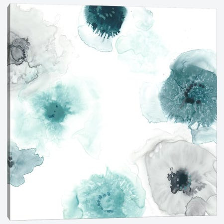 Floating Indigo III Canvas Print #JEV282} by June Erica Vess Canvas Artwork