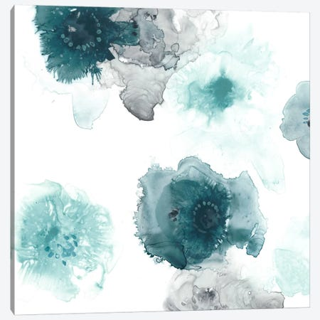 Floating Indigo IV Canvas Print #JEV283} by June Erica Vess Canvas Wall Art