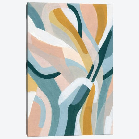 Pastel Puzzle I Canvas Print #JEV2869} by June Erica Vess Canvas Print