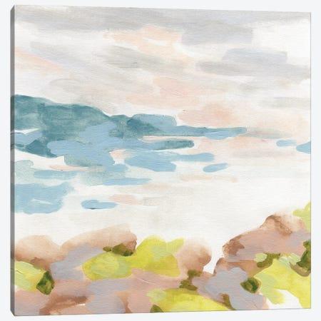 Pastel Shoreline I Canvas Print #JEV2871} by June Erica Vess Canvas Wall Art
