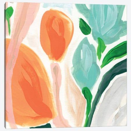 Primal Flora I Canvas Print #JEV2880} by June Erica Vess Canvas Art Print