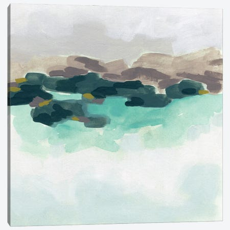 Sea Glass Coast I Canvas Print #JEV2893} by June Erica Vess Canvas Wall Art