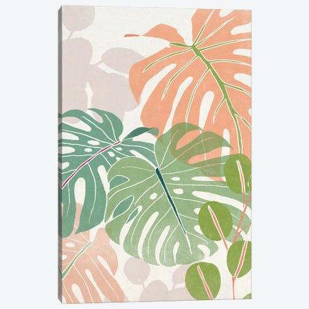 Sherbet Tropical I Canvas Print #JEV2897} by June Erica Vess Art Print