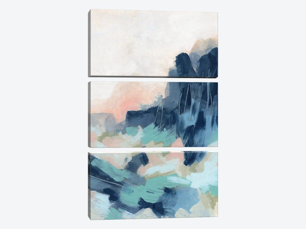 Sunset Surf II by June Erica Vess 3-piece Canvas Art Print
