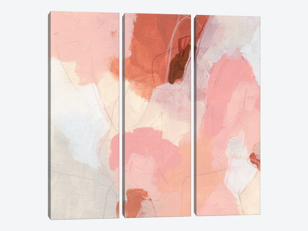 Terracotta Cloud I by June Erica Vess 3-piece Canvas Print