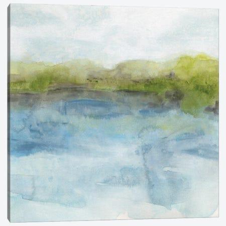 Watermark Shoreline II Canvas Print #JEV2925} by June Erica Vess Canvas Print