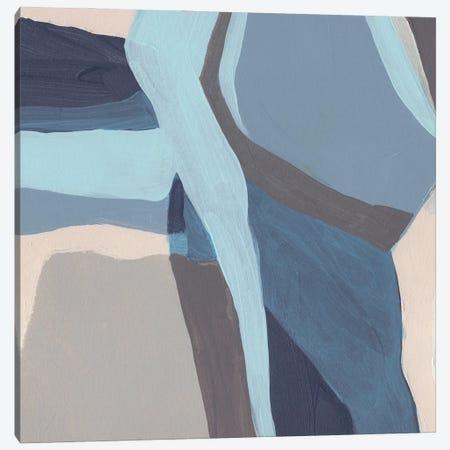 Blue Chrysalis II Canvas Print #JEV2937} by June Erica Vess Canvas Wall Art
