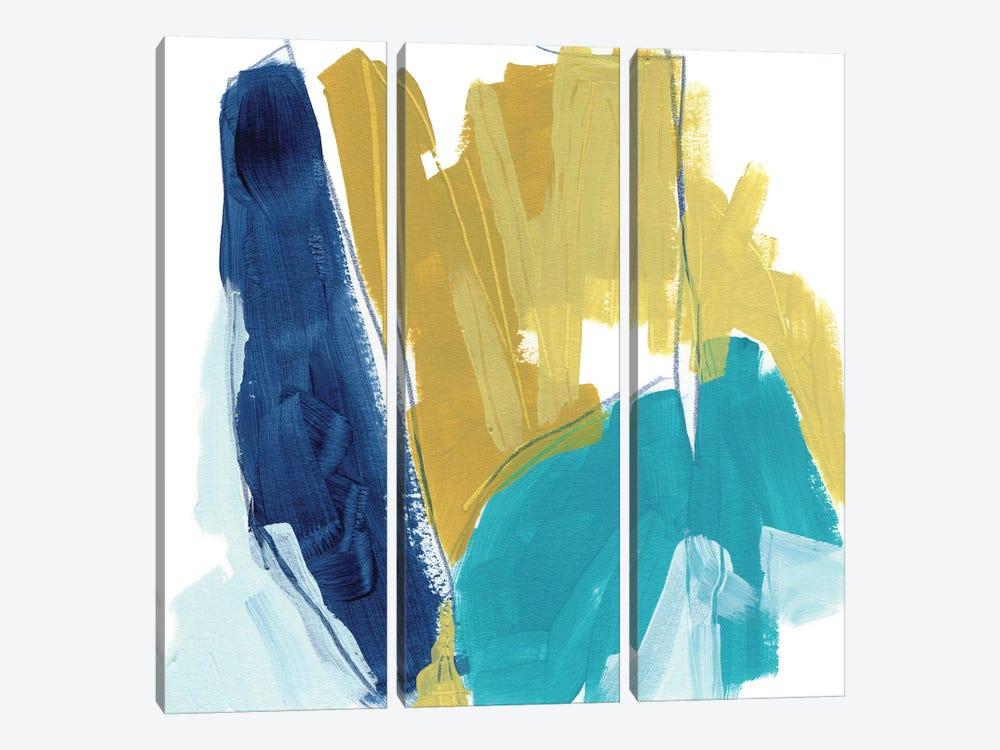 Bottleneck III by June Erica Vess 3-piece Canvas Artwork