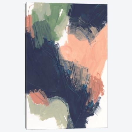 Indigo & Sienna Crescendo I Canvas Print #JEV2977} by June Erica Vess Canvas Art