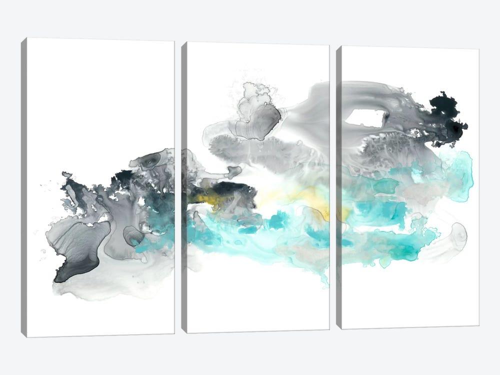 Lunar Veil III by June Erica Vess 3-piece Canvas Print