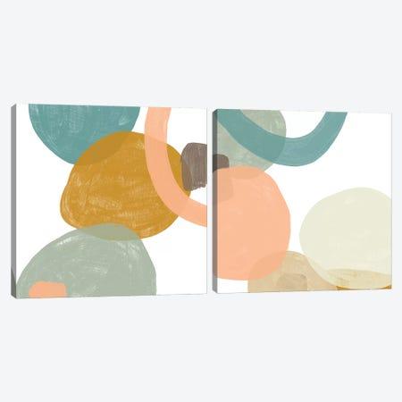 Platelet Diptych I Canvas Print Set #JEV2HSET002} by June Erica Vess Canvas Art