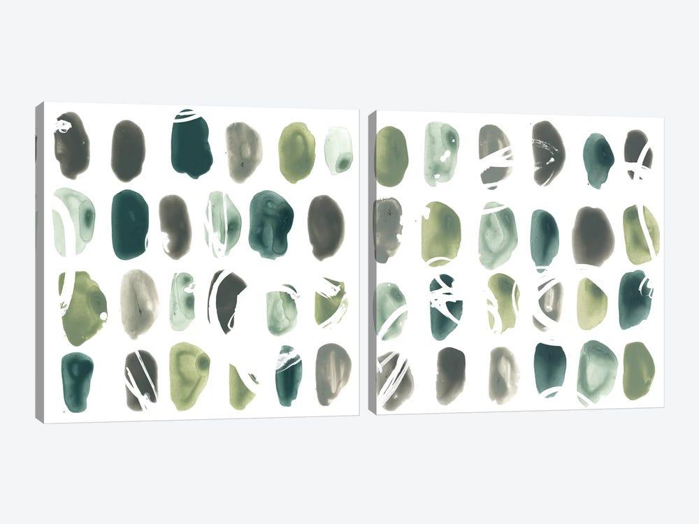 Rune Stone Diptych by June Erica Vess 2-piece Art Print