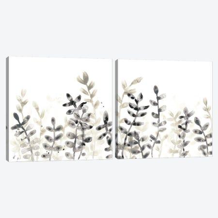 Liquid Stems Diptych Canvas Print Set #JEV2HSET005} by June Erica Vess Art Print