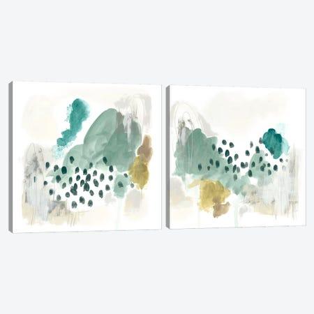Rain Cloud Diptych Canvas Print Set #JEV2HSET006} by June Erica Vess Canvas Art Print