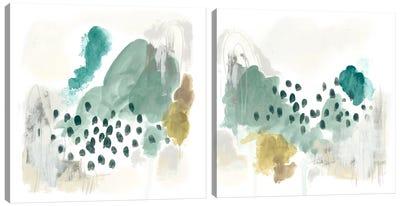 Rain Cloud Diptych Canvas Art Print