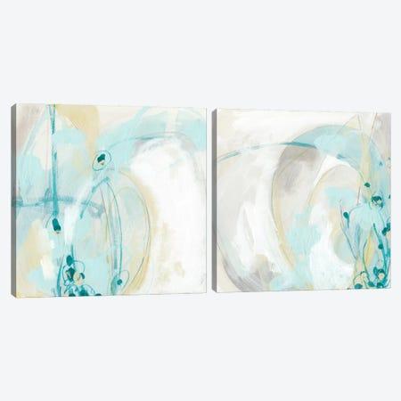 Sea Story Diptych Canvas Print Set #JEV2HSET007} by June Erica Vess Art Print