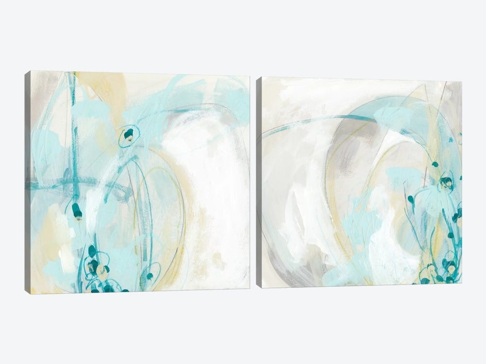 Sea Story Diptych by June Erica Vess 2-piece Canvas Art