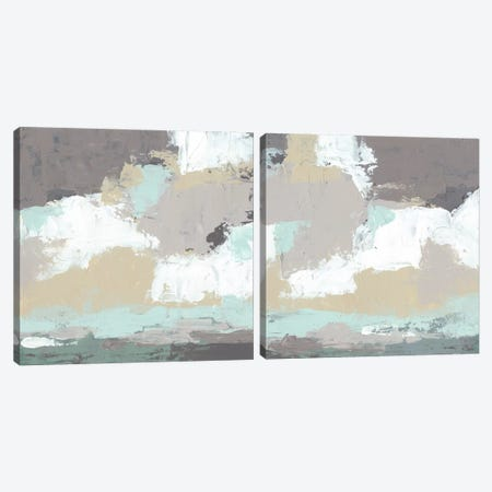 Fog Bank Diptych Canvas Print Set #JEV2HSET009} by June Erica Vess Canvas Wall Art