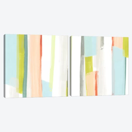 Litmus Diptych Canvas Print Set #JEV2HSET012} by June Erica Vess Canvas Print