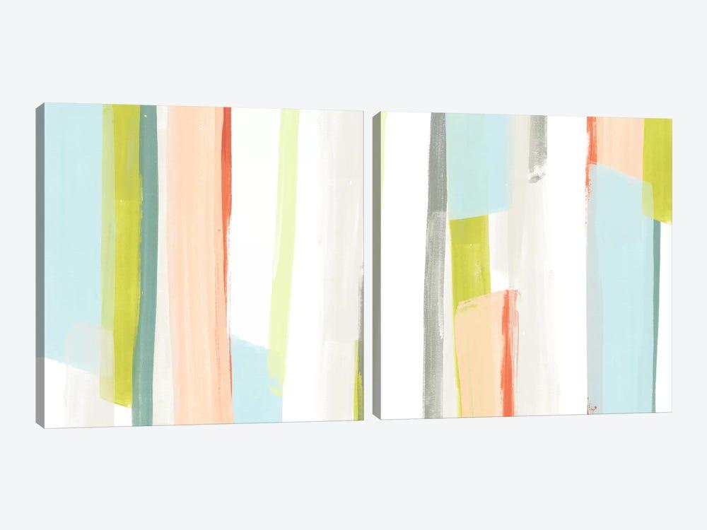 Litmus Diptych by June Erica Vess 2-piece Canvas Art