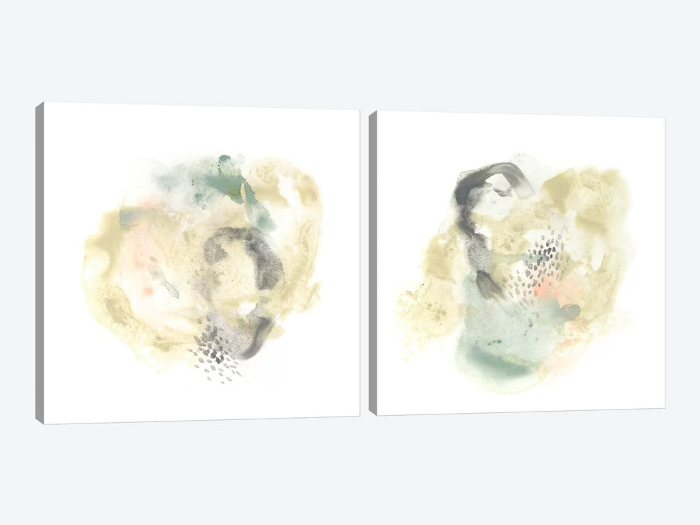 Galaxy Diptych by June Erica Vess 2-piece Canvas Art Print