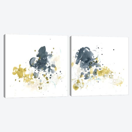 Kinetic Intuition Diptych Canvas Print Set #JEV2HSET020} by June Erica Vess Canvas Artwork