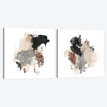 Missive Diptych Canvas Print Set #JEV2HSET023} by June Erica Vess Canvas Wall Art