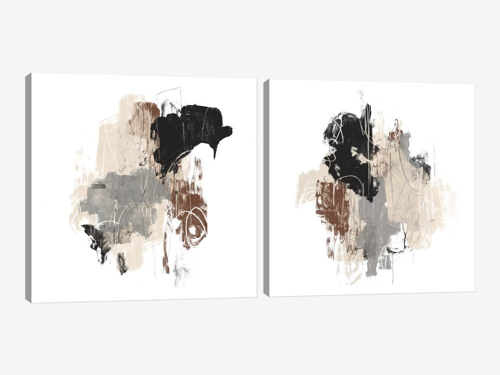 Missive Diptych by June Erica Vess 2-piece Canvas Art