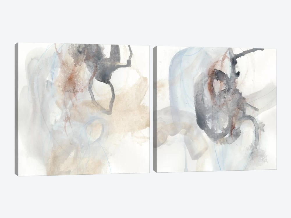 Supposition Diptych by June Erica Vess 2-piece Art Print