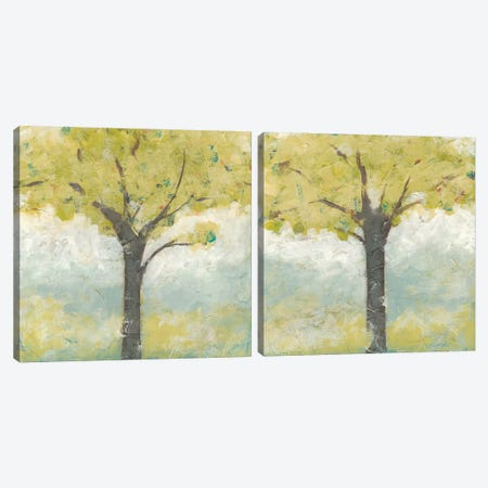 Spring Arbor Diptych Canvas Print Set #JEV2HSET038} by June Erica Vess Art Print