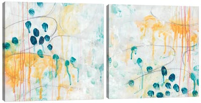 Momentum Diptych Canvas Art Print