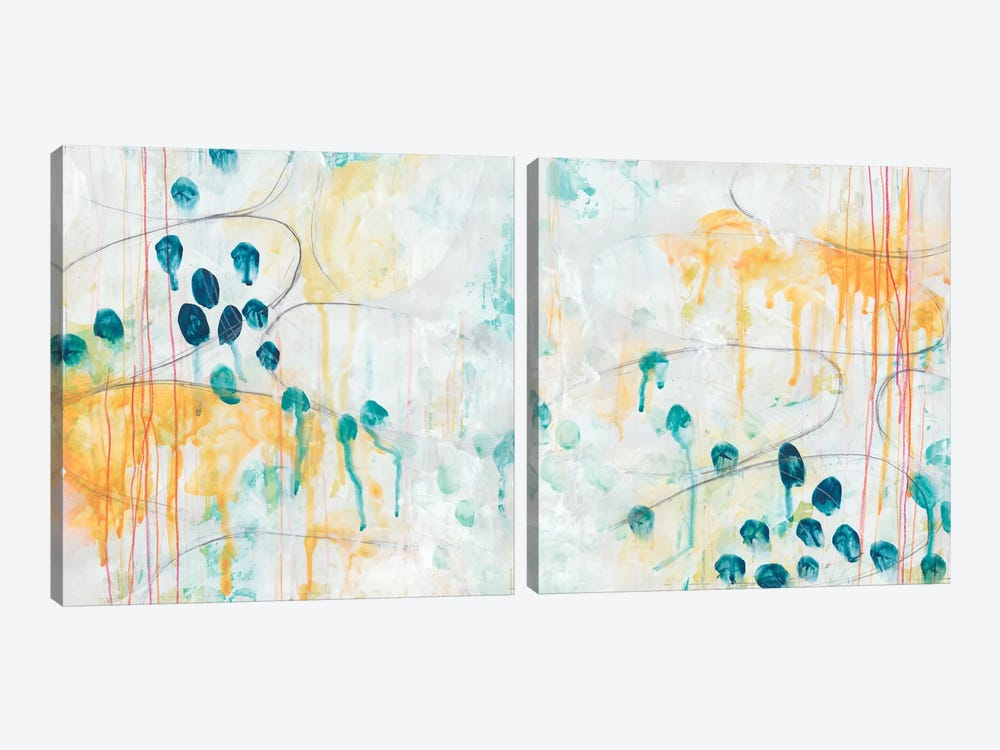 Momentum Diptych by June Erica Vess 2-piece Canvas Wall Art