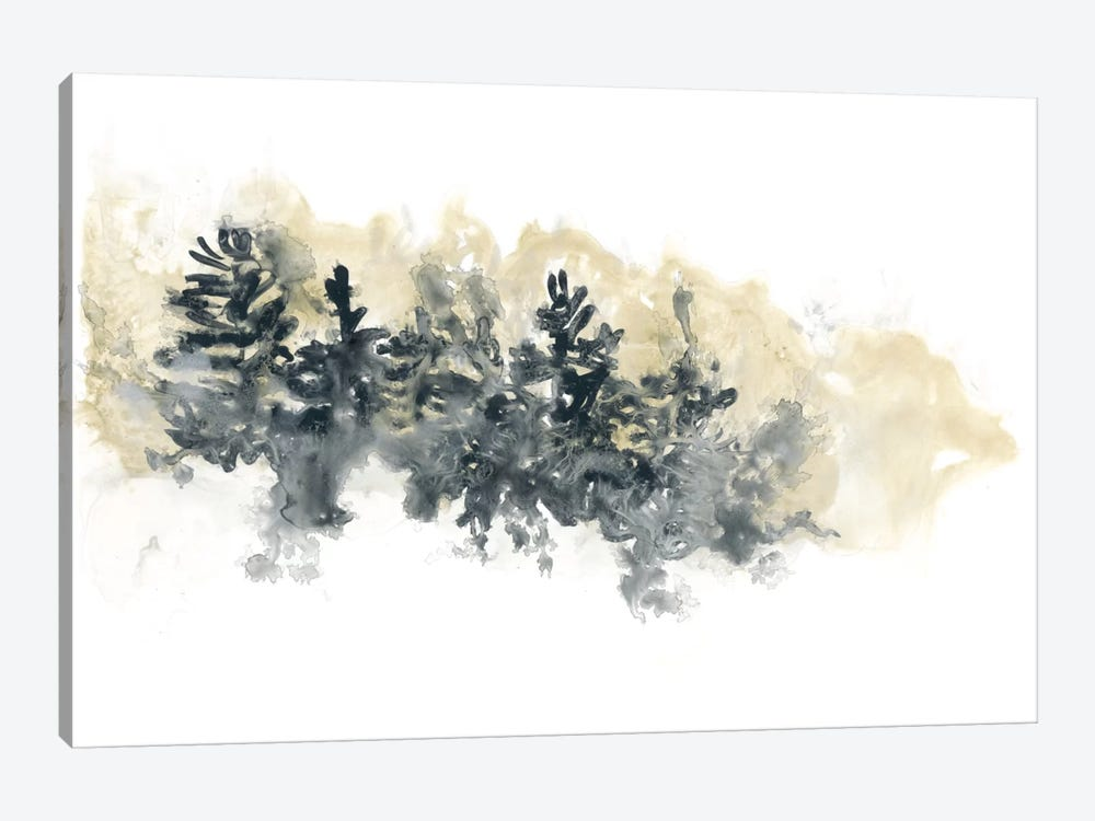 Misty Hillside I 1-piece Canvas Print
