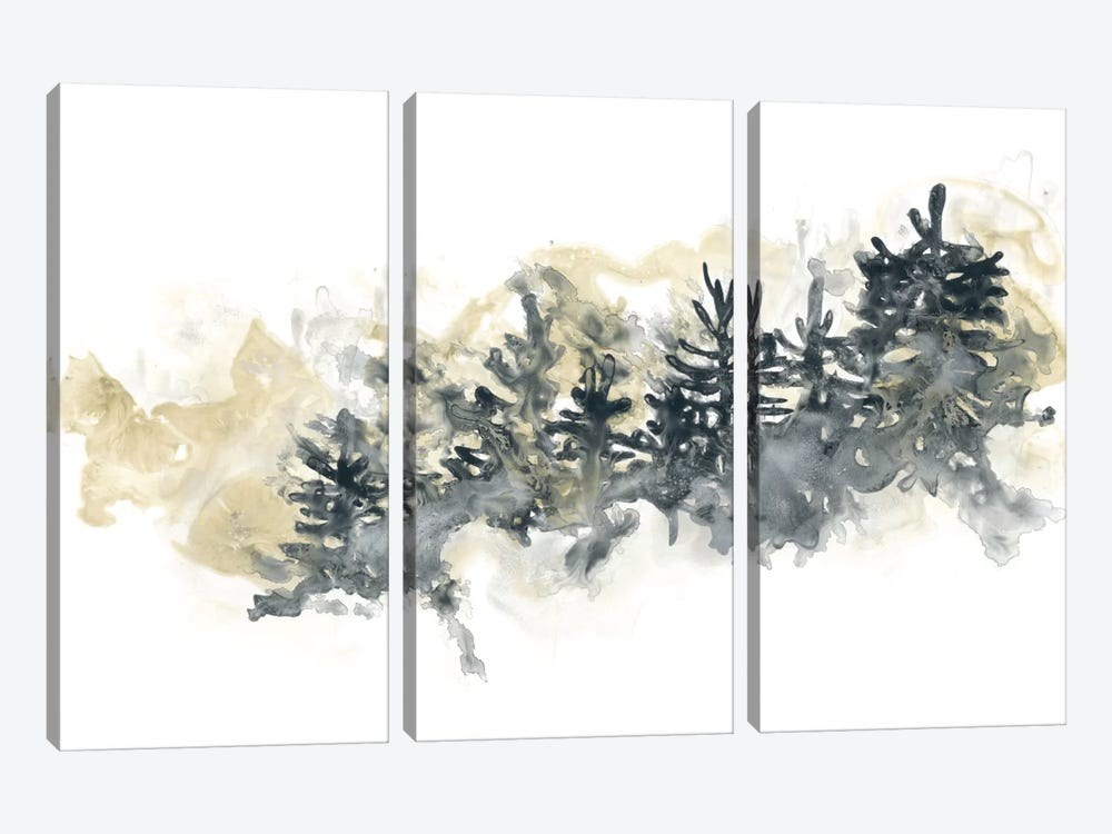 Misty Hillside II by June Erica Vess 3-piece Canvas Wall Art