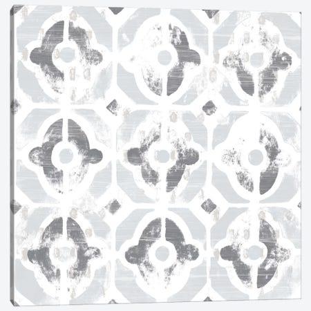 Monoprint Tile III Canvas Print #JEV307} by June Erica Vess Canvas Wall Art