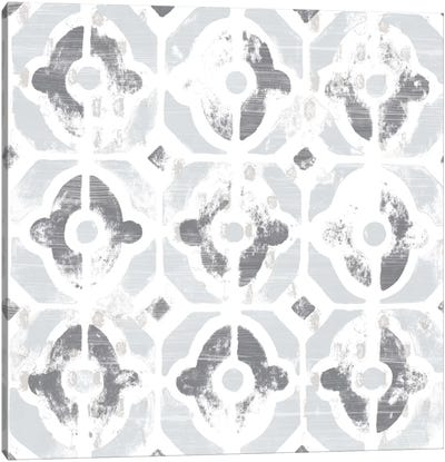 Monoprint Tile III Canvas Art Print
