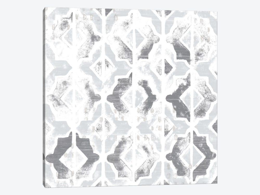 Monoprint Tile VII by June Erica Vess 1-piece Canvas Art Print