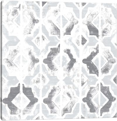 Monoprint Tile VII Canvas Art Print