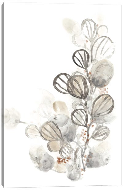 Neutral Botany I Canvas Art Print