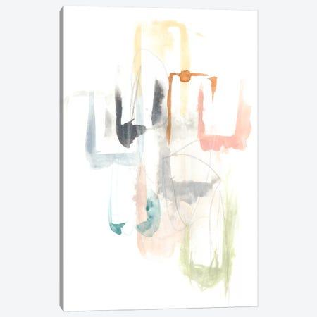 Pastel Windows I Canvas Print #JEV314} by June Erica Vess Art Print