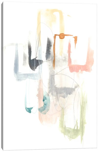Pastel Windows I Canvas Art Print