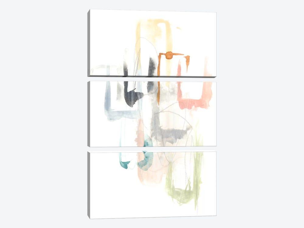 Pastel Windows I by June Erica Vess 3-piece Art Print
