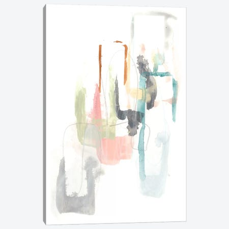 Pastel Windows II Canvas Print #JEV315} by June Erica Vess Canvas Art Print
