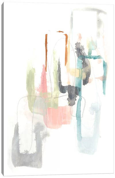 Pastel Windows II Canvas Art Print