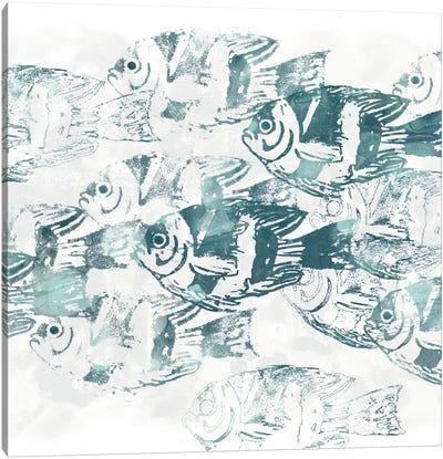 Sealife Batik III Canvas Art Print